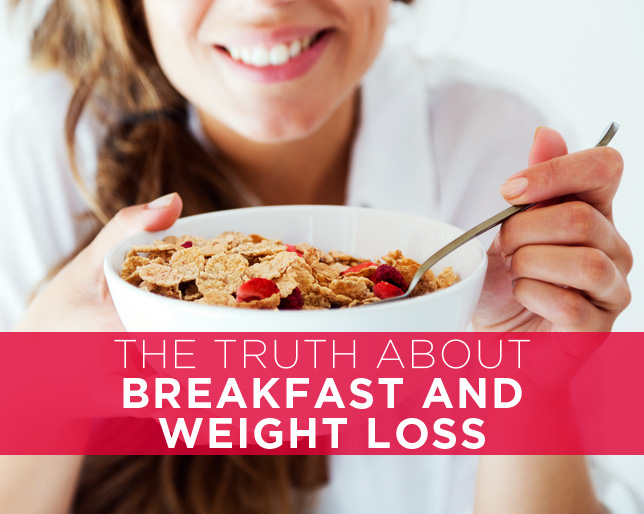 Breakfast Consumption and Weight Loss
