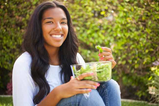 Is Nutrition Influencing Puberty in Teen Girls?
