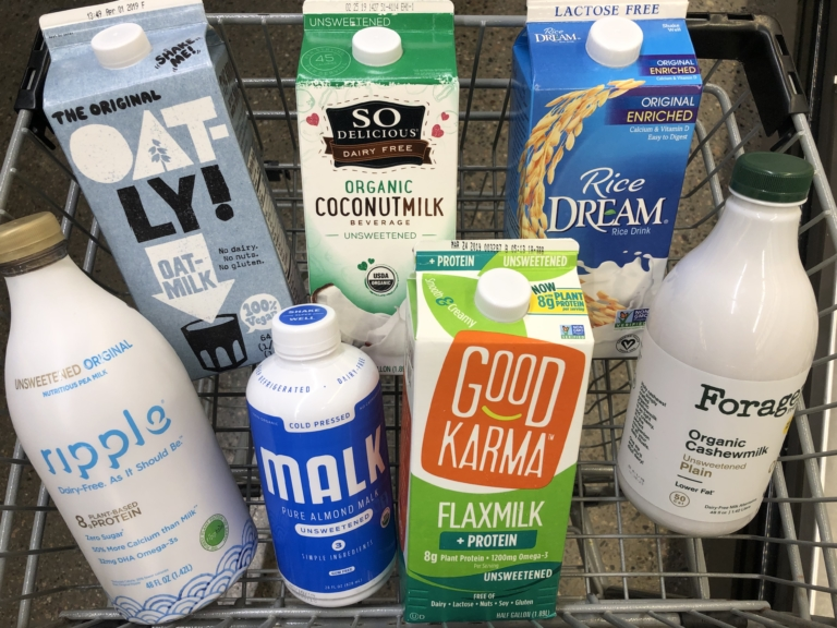 Going nuts about milk? Here's what you need to know about plant-based milk alternatives