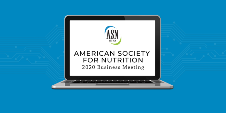 2020 ASN Virtual Business Meeting and Telephone Town Hall