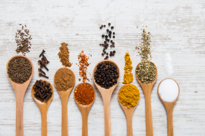 Adding a variety of spice to food may benefit health