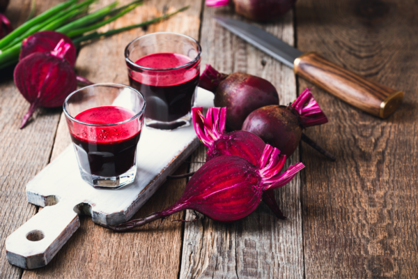 Hypertension is reduced by a high-nitrate beetroot juice extract