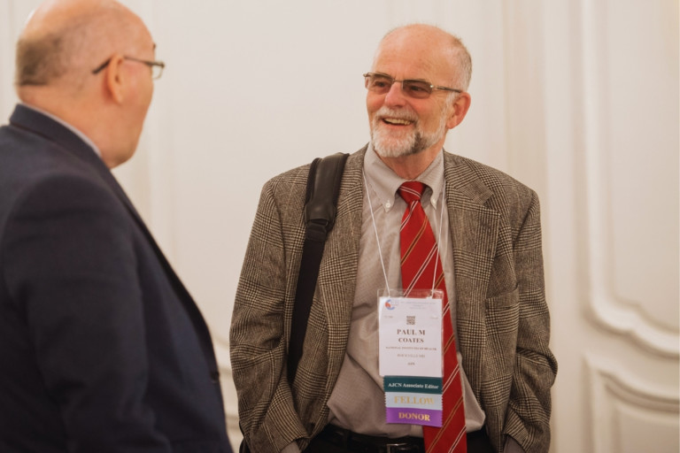 Interview with Paul Coates, Ph.D., 2021-2022 President of the American Society for Nutrition