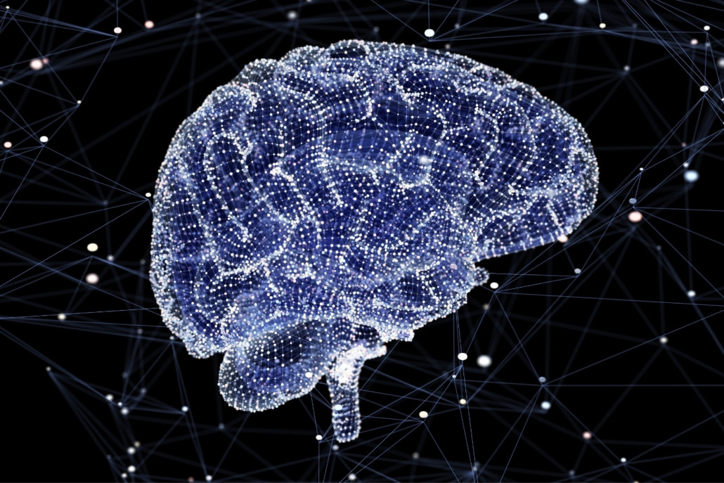 Brain activity during thinking